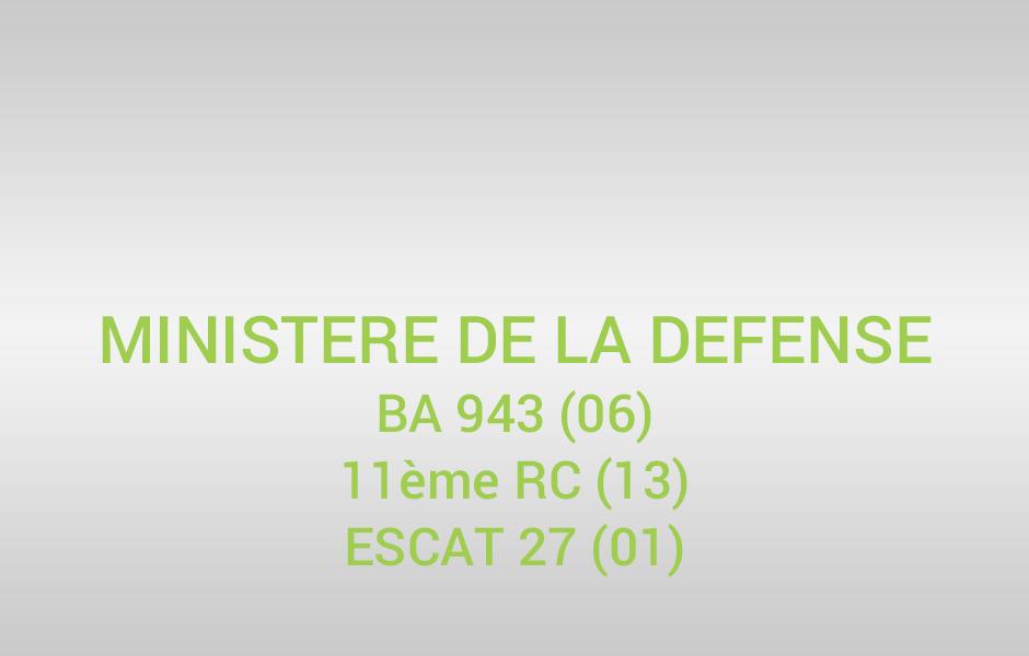 Ministere de la defense ico environnement for Ministere de defense