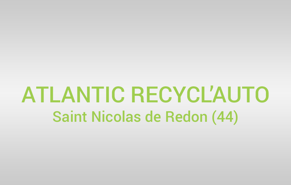 atlantic recycl auto ico environnement. Black Bedroom Furniture Sets. Home Design Ideas